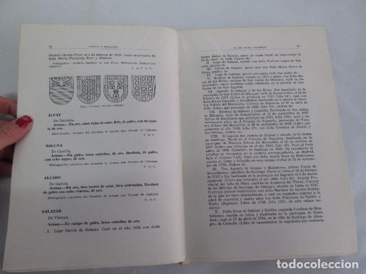 Libros de segunda mano: ARMERIA Y NOBILIARIO DE LOS REINOS ESPAÑOLES. TOMO I-II-III-IV. EDICIONES HIDALGUIA. VER FOTOS - Foto 33 - 110671631