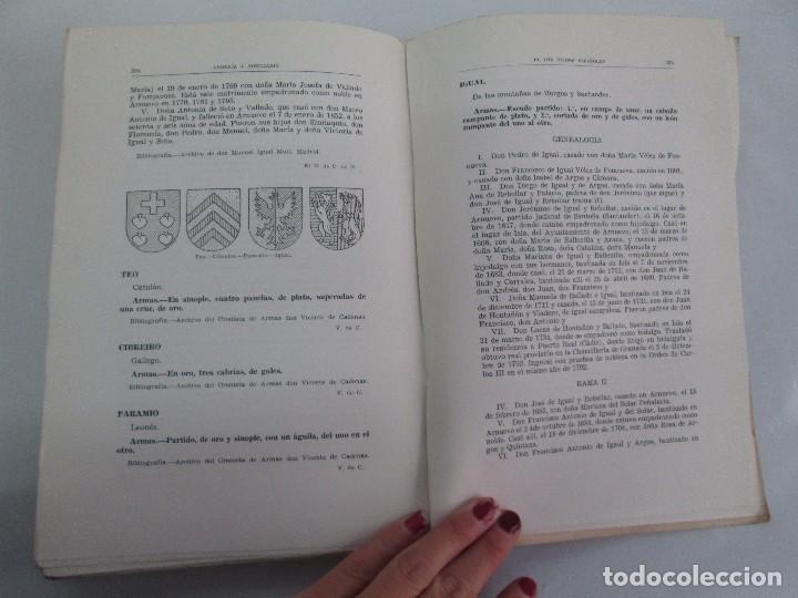 Libros de segunda mano: ARMERIA Y NOBILIARIO DE LOS REINOS ESPAÑOLES. TOMO I-II-III-IV. EDICIONES HIDALGUIA. VER FOTOS - Foto 35 - 110671631