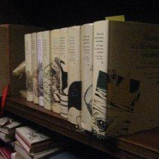 Libros de segunda mano: HISTORIA DE LA LITERTURA ESPAÑOLA, 9 TOMOS EDITORIAL CRITICA 2012. Lote 110682731