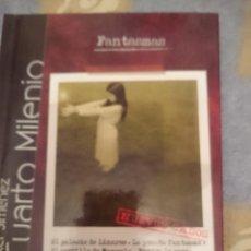 Libros de segunda mano: LIBRO Y DVD - FANTASMAS - CUARTO MILENIO - IKER JIMENEZ --REFM3E1. Lote 110794079