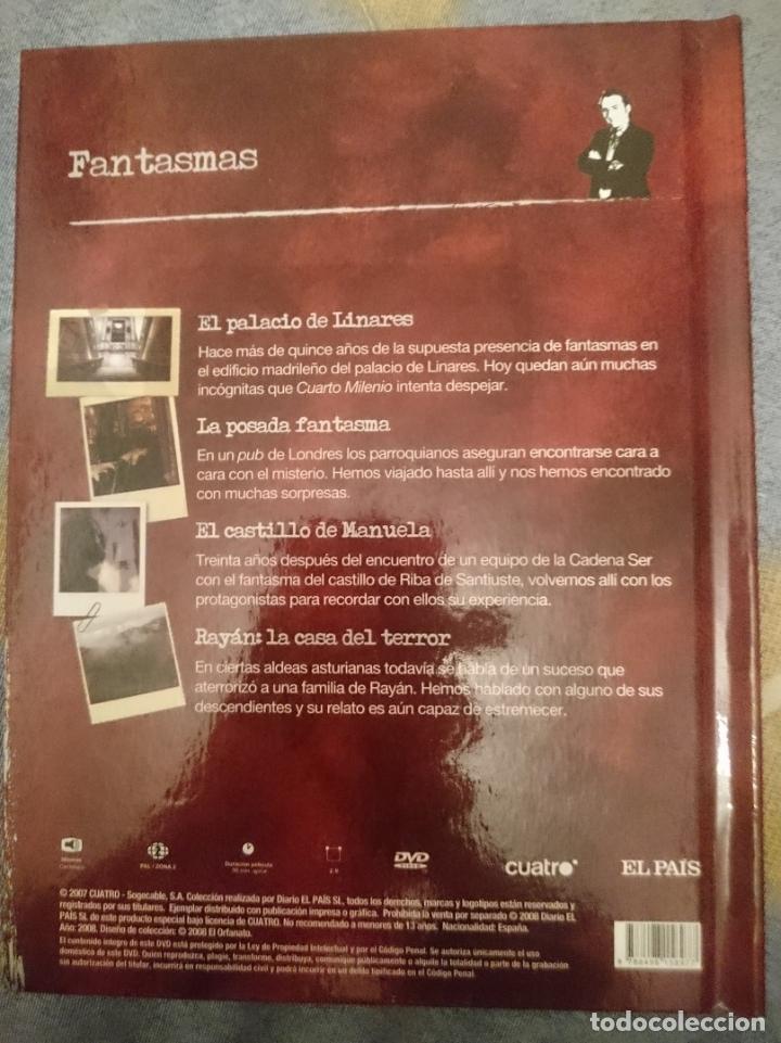 libro y dvd - fantasmas - cuarto milenio - iker - Comprar en ...