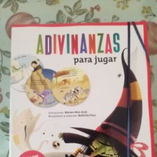 Libros de segunda mano: ADIVINANZAS PARA JUGAR-VOX. Lote 110812327