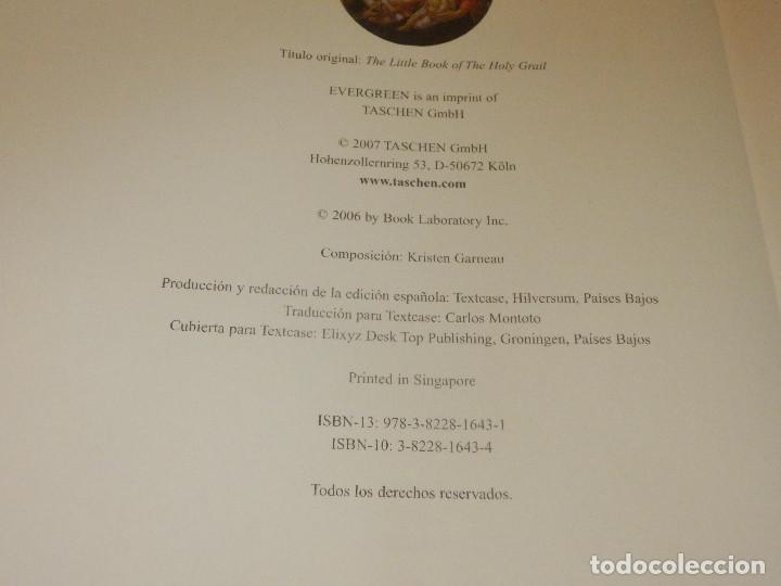 Libros de segunda mano: Libro - El santo Grial - Evergreen 2004 151 páginas 16 x 16 cm Sangeet Duchane ISBN-10:3-8228-1643 - Foto 2 - 110877403
