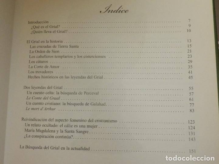 Libros de segunda mano: Libro - El santo Grial - Evergreen 2004 151 páginas 16 x 16 cm Sangeet Duchane ISBN-10:3-8228-1643 - Foto 3 - 110877403