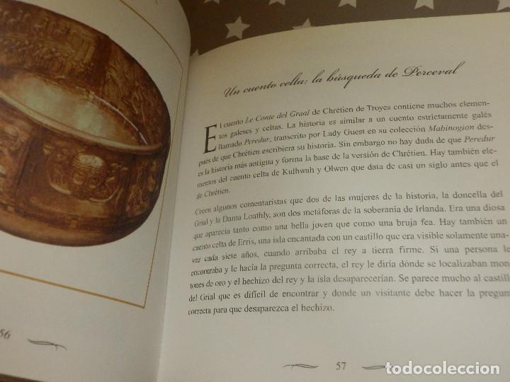 Libros de segunda mano: Libro - El santo Grial - Evergreen 2004 151 páginas 16 x 16 cm Sangeet Duchane ISBN-10:3-8228-1643 - Foto 5 - 110877403