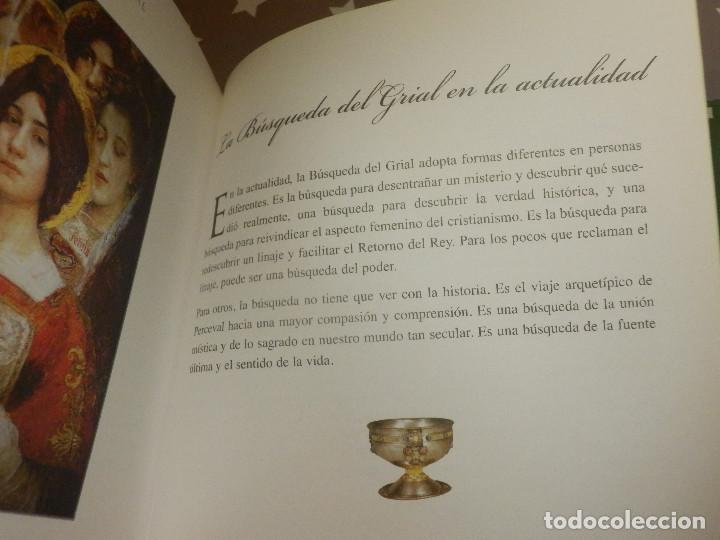 Libros de segunda mano: Libro - El santo Grial - Evergreen 2004 151 páginas 16 x 16 cm Sangeet Duchane ISBN-10:3-8228-1643 - Foto 8 - 110877403