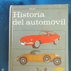 Libros de segunda mano: HISTORIA DEL AUTOMOVIL CEAC ANTIGUO. Lote 110879527