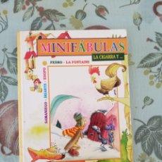 Libros de segunda mano: MINIFÁBULAS-LA CIGARRA Y...-LIBRO-HOBBY. Lote 110892488