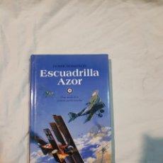 Libros de segunda mano: LIBRO ESCUADRILLA ACTOR DEREK ROBINSON UNA NOVELA DE LA PRIMERA GUERRA MUNDIAL. Lote 110909164