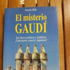 Libros de segunda mano - EL MISTERIO GAUDÍ. ERNESTO MILÁ - 110909583