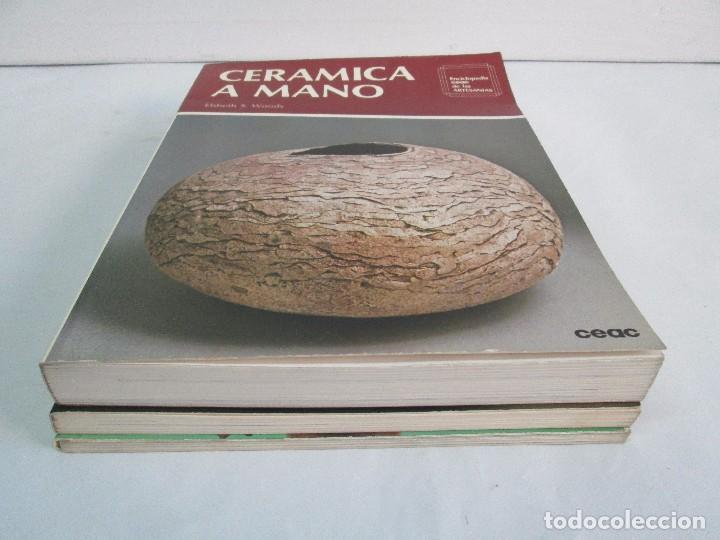 Libros de segunda mano: CERAMICA A MANO. CERAMICA CREATIVA. CERAMICA Y ALFARERIA POPULARES DE ESPAÑA. 3 LIBROS. VER FOTOS - Foto 3 - 110982387