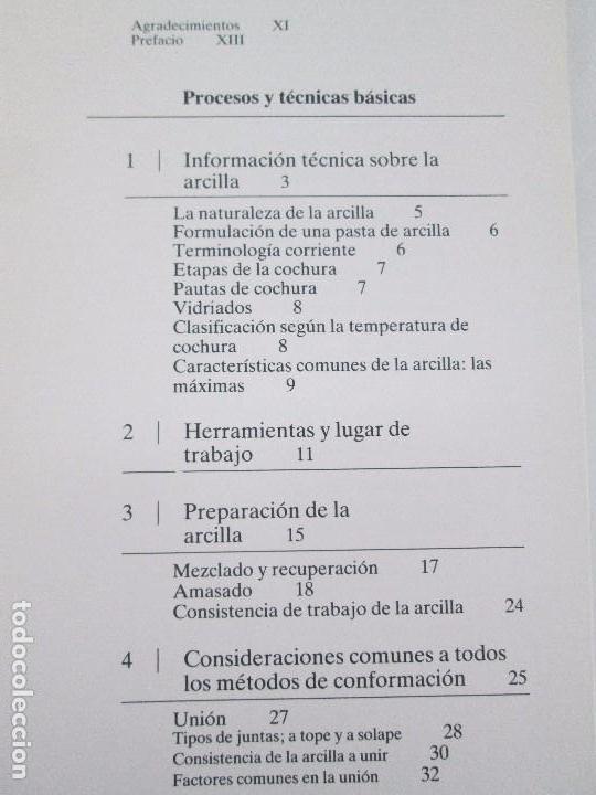 Libros de segunda mano: CERAMICA A MANO. CERAMICA CREATIVA. CERAMICA Y ALFARERIA POPULARES DE ESPAÑA. 3 LIBROS. VER FOTOS - Foto 9 - 110982387