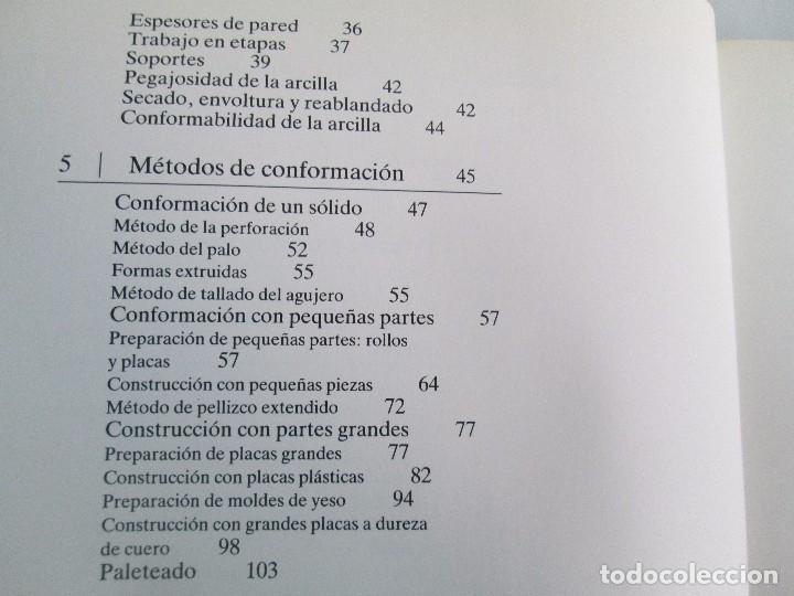 Libros de segunda mano: CERAMICA A MANO. CERAMICA CREATIVA. CERAMICA Y ALFARERIA POPULARES DE ESPAÑA. 3 LIBROS. VER FOTOS - Foto 10 - 110982387