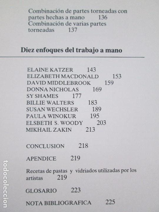 Libros de segunda mano: CERAMICA A MANO. CERAMICA CREATIVA. CERAMICA Y ALFARERIA POPULARES DE ESPAÑA. 3 LIBROS. VER FOTOS - Foto 12 - 110982387