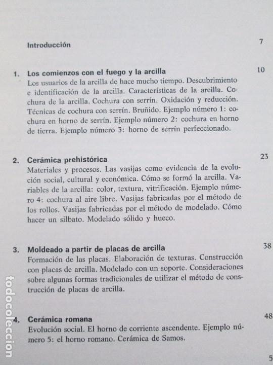 Libros de segunda mano: CERAMICA A MANO. CERAMICA CREATIVA. CERAMICA Y ALFARERIA POPULARES DE ESPAÑA. 3 LIBROS. VER FOTOS - Foto 21 - 110982387