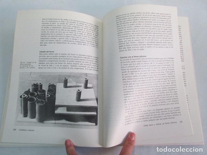 Libros de segunda mano: CERAMICA A MANO. CERAMICA CREATIVA. CERAMICA Y ALFARERIA POPULARES DE ESPAÑA. 3 LIBROS. VER FOTOS - Foto 26 - 110982387
