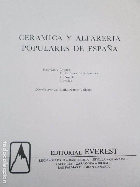 Libros de segunda mano: CERAMICA A MANO. CERAMICA CREATIVA. CERAMICA Y ALFARERIA POPULARES DE ESPAÑA. 3 LIBROS. VER FOTOS - Foto 29 - 110982387