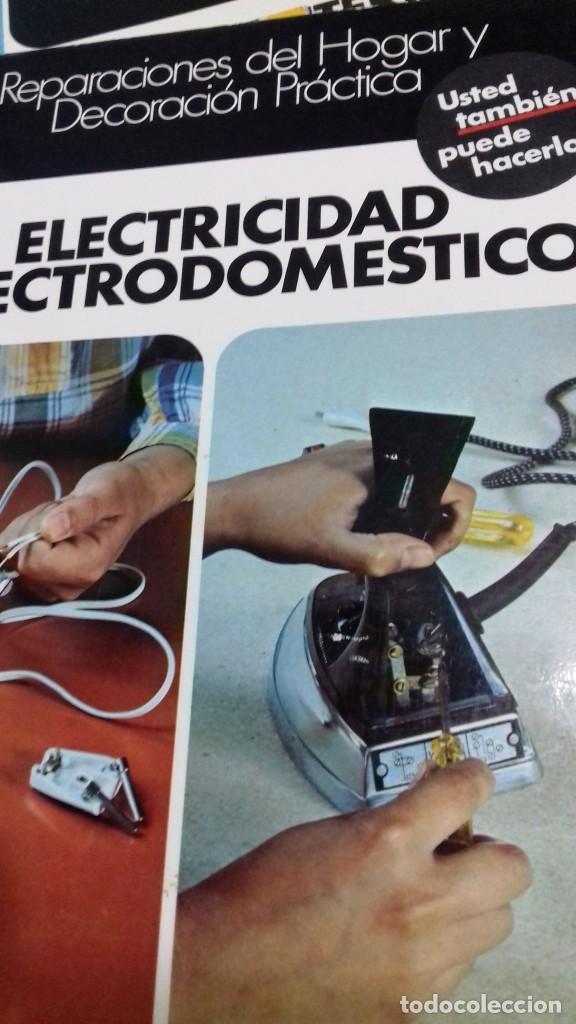 Libros de segunda mano: Enciclopedia Bricolaje CEAC 5 vol fontaneria electricidad pintura carpinteria tapizado. - Foto 4 - 111064603