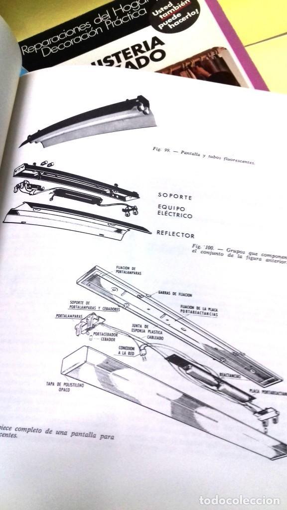 Libros de segunda mano: Enciclopedia Bricolaje CEAC 5 vol fontaneria electricidad pintura carpinteria tapizado. - Foto 6 - 111064603
