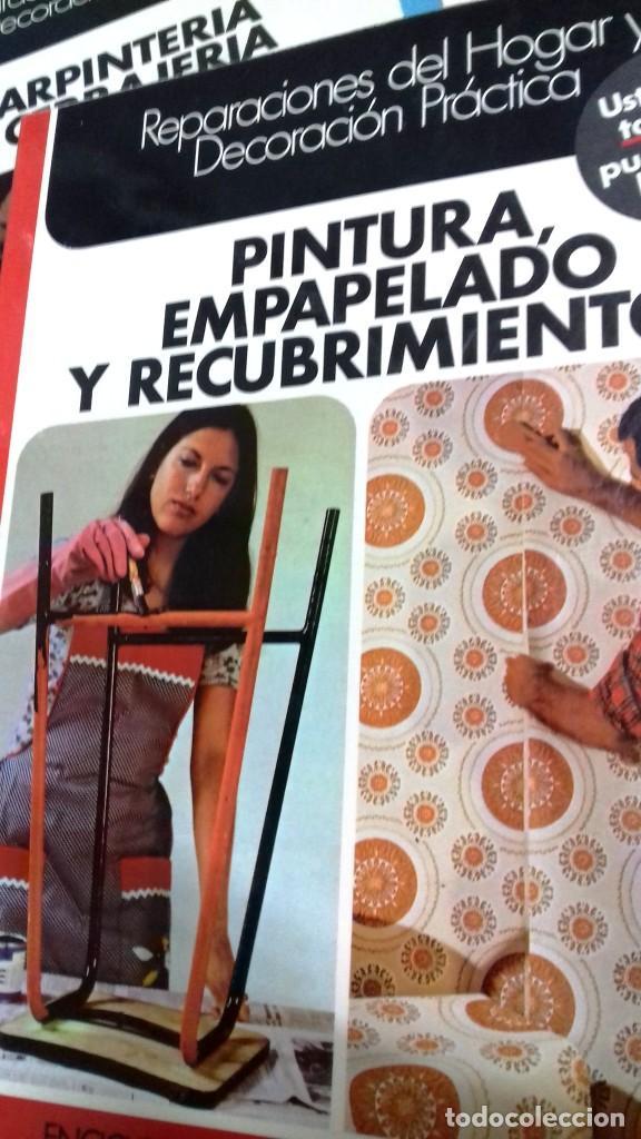 Libros de segunda mano: Enciclopedia Bricolaje CEAC 5 vol fontaneria electricidad pintura carpinteria tapizado. - Foto 7 - 111064603