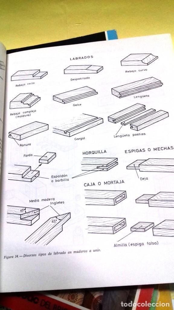 Libros de segunda mano: Enciclopedia Bricolaje CEAC 5 vol fontaneria electricidad pintura carpinteria tapizado. - Foto 15 - 111064603