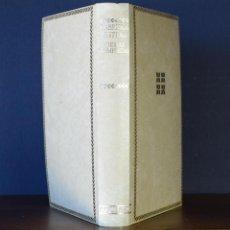 Libros de segunda mano: POESÍAS COMPLETAS. DESOLACIÓN / TERNURA / TALA / LAGAR, I - MISTRAL, GABRIELA. CENTENARIO - AGUILAR. Lote 111097783