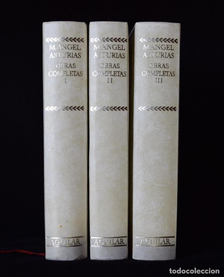 OBRAS COMPLETAS, I-II-III (EDICIÓN COMPLETA) - ASTURIAS, MIGUEL ÁNGEL - CENTENARIO - AGUILAR (Libros de Segunda Mano (posteriores a 1936) - Literatura - Otros)