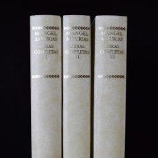Libros de segunda mano: OBRAS COMPLETAS, I-II-III (EDICIÓN COMPLETA) - ASTURIAS, MIGUEL ÁNGEL - CENTENARIO - AGUILAR. Lote 111097987