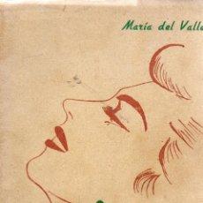 Libros de segunda mano: MARIA ANTONIA Y OTROS CUENTOS. MARÍA DEL VALLE. SONATADA, 1947.. Lote 111105279