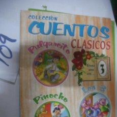 Libros de segunda mano: CUENTOS CLASICOS. Lote 111186927