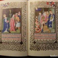 Libros de segunda mano: LAS BELLAS HORAS DEL DUQUE DE BERRY, MÁS DE 100 LÁMINAS EN FACSÍMIL. Lote 249543590