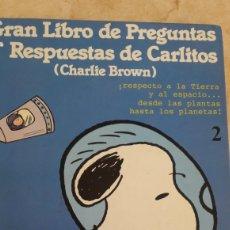 Libros de segunda mano: GRAN LIBRO DE PREGUNTAS Y RESPUESTAS DE CARLITOS.. Lote 111291524