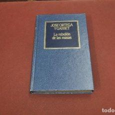 Libros de segunda mano: LA REBELIÓN DE LAS MASAS - JOSE ORTEGA Y GASSET - FIB. Lote 111324763