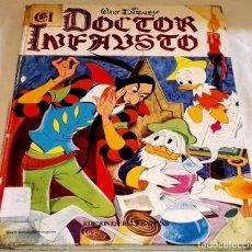 Libros de segunda mano: EL DOCTOR INFAUSTO, WALT DISNEY - EDICIONES RECREATIVAS 1973. Lote 111340223