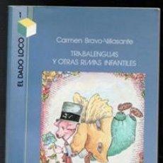 Libros de segunda mano: TRABALENGUAS Y OTRAS RIMAS INFANTILES, CARMEN BRAVO VILLASANTE. Lote 111204800