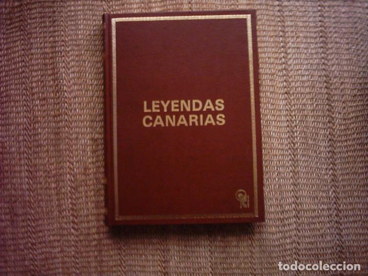 Libros de segunda mano: FELIX DUARTE. LEYENDAS CANARIAS. 1981. ILUSTRADO CON OBRAS DE 9 ARTISTAS. - Foto 2 - 111378847