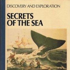 Libros de segunda mano: SECRETS OF THE SEA. DISCOVERY AND EXPLORATION - CARL PROUJAN. Lote 111412439