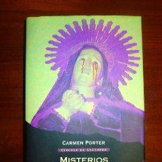 Libros de segunda mano: MISTERIOS DE LA IGLESIA / CARMEN PORTER ; PRÓLOGO DE IKER JIMÉNEZ. Lote 111413975