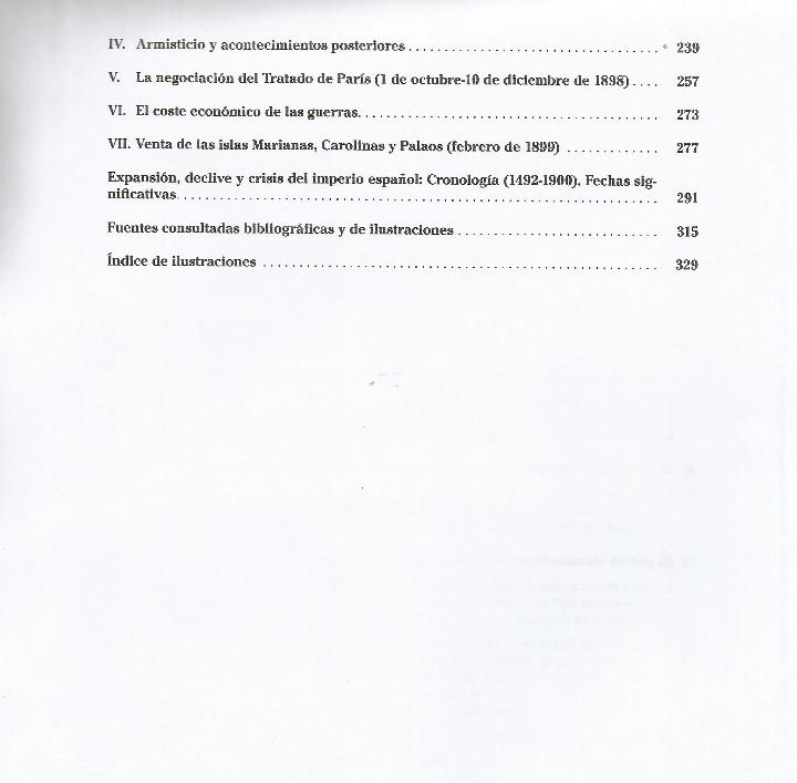 Libros de segunda mano: Libro -El fin del Imperio Español (1895-1900).Álvarez Llano - Foto 4 - 111432571