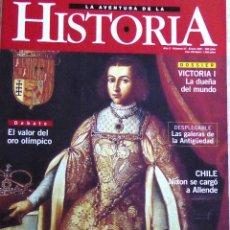 Libros de segunda mano: LA AVENTURA DE LA HISTORIA Nº 27. INCESTO IMPERIAL. VICTORIA I DUEÑA DEL MUNDO. ORO OLÍMPICO. Lote 111531887