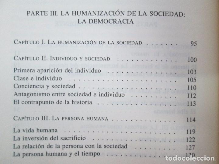 Libros de segunda mano: MARIA ZAMBRANO. 4 LIBROS: LA RAZON EN LA SOMBRA. FILOSOFIA Y POESIA. PERSONA Y DEMOCRACIA... - Foto 13 - 111587059