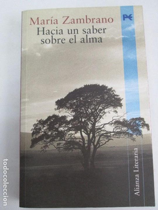 Libros de segunda mano: MARIA ZAMBRANO. 4 LIBROS: LA RAZON EN LA SOMBRA. FILOSOFIA Y POESIA. PERSONA Y DEMOCRACIA... - Foto 23 - 111587059