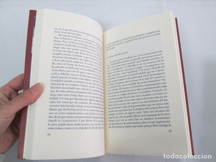 Libros de segunda mano: MARIA ZAMBRANO. 4 LIBROS: LA RAZON EN LA SOMBRA. FILOSOFIA Y POESIA. PERSONA Y DEMOCRACIA... - Foto 28 - 111587059