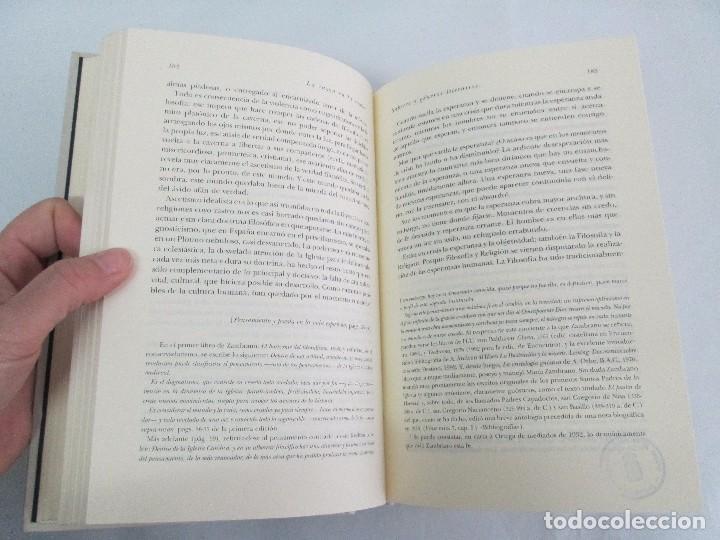 Libros de segunda mano: MARIA ZAMBRANO. 4 LIBROS: LA RAZON EN LA SOMBRA. FILOSOFIA Y POESIA. PERSONA Y DEMOCRACIA... - Foto 43 - 111587059