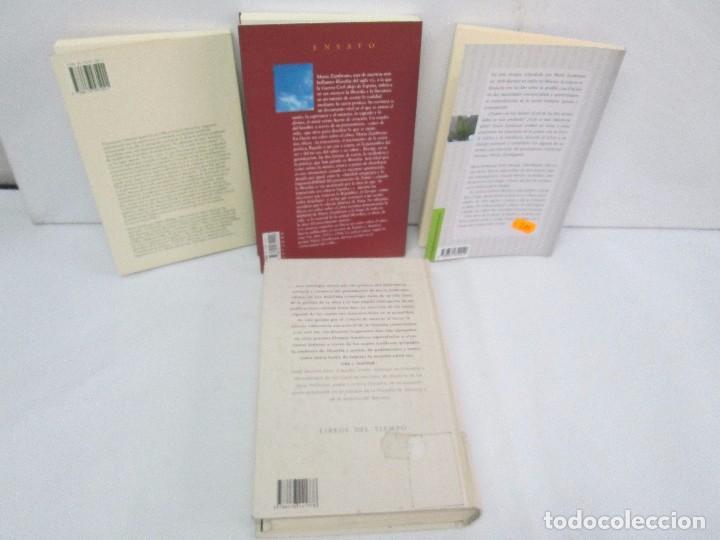 Libros de segunda mano: MARIA ZAMBRANO. 4 LIBROS: LA RAZON EN LA SOMBRA. FILOSOFIA Y POESIA. PERSONA Y DEMOCRACIA... - Foto 46 - 111587059