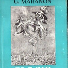 Libros de segunda mano: GREGORIO MARAÑÓN : ELOGIO Y NOSTALGIA DE TOLEDO (ESPASA CALPE, 1966). Lote 111652555