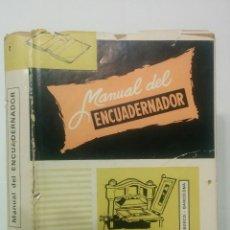 Libros de segunda mano: MANUAL DEL ENCUADERNADOR DORADOR Y PRENSISTA 1971 BIBLIOTECA PROFESIONAL E. P. S. 7ª ED. DON BOSCO. Lote 111711523