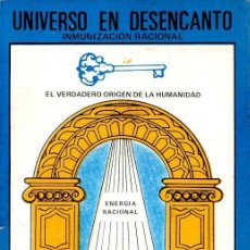 Libros de segunda mano: UNIVERSO EN DESENCANTO - ESPIRITISMO (JACINTHO COELHO, BRASIL, S F.). Lote 111718455