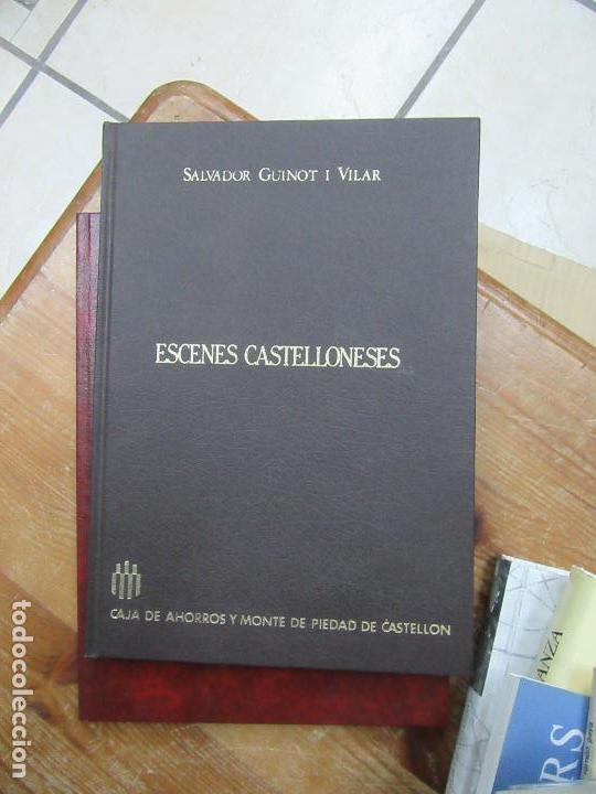 LIBRO ESCENES CASTELLONENSES SALVADOR GUINOT I VILAR 1985 ESCRITO EN VALENCIANO ART-548-62 (Libros de Segunda Mano - Bellas artes, ocio y coleccionismo - Otros)