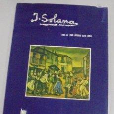 Libros de segunda mano: J.SOLANA. COLECCION ARTE Y ESTILO. TEXTO DE JUAN ANTONIO GAYA NUÑO. 1973. ILUSTRADO. VER. Lote 111763727